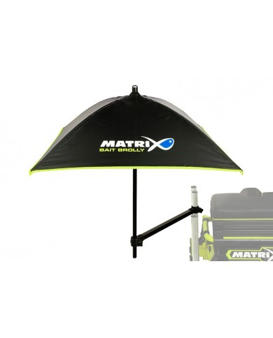matrix ombrello per esche bait brolly inc support arm