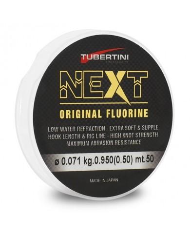 monofilo tubertini NEXT fluoro carbon 50 mt