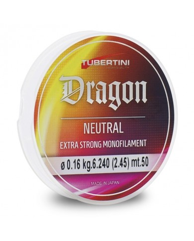 tubertini monofilo dragon neutral 500 mt