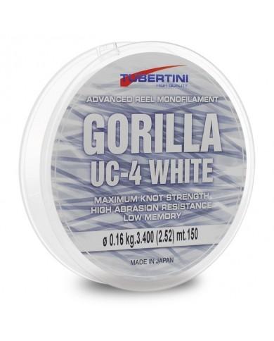 monofilo tubertini gorilla UC4 white - bianco 1000mt