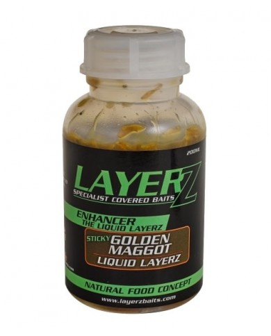 starbaits layerz golden magot 200 ml bigattino