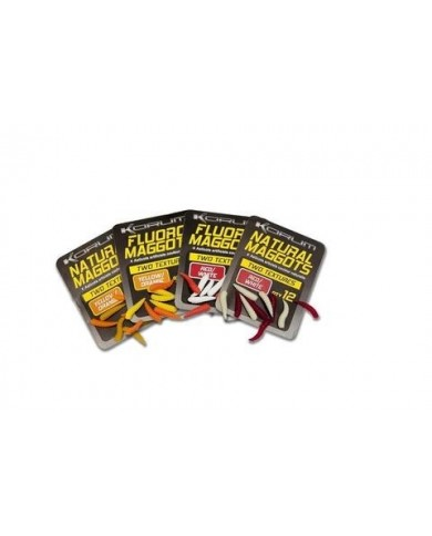 AVID CARP natura maggots yellow/orange