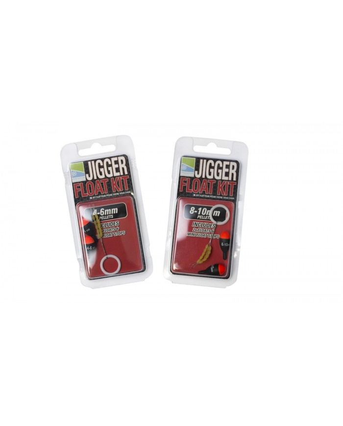 preston galleggianti jigger float kits