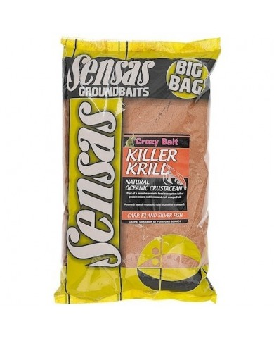 sensas big bag Killer Krill 2 kg pastura-mix