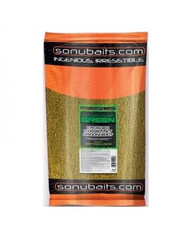 sonubaits pastura super crush green 2 kg