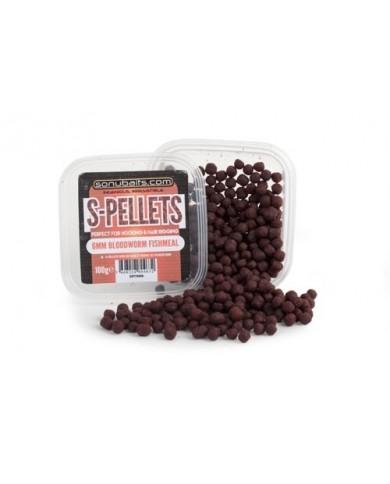 sonubait Pellets Morbidi S-Pellets Bloodworm 6mm (100gr)