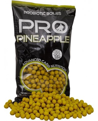 starbaits probiotic boilies pineapple-ananas
