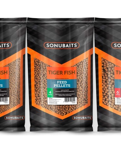 sonubaits pellet tiger fish 900gr