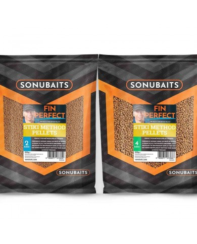 sonubaits pellets fin perfect Stiki Method