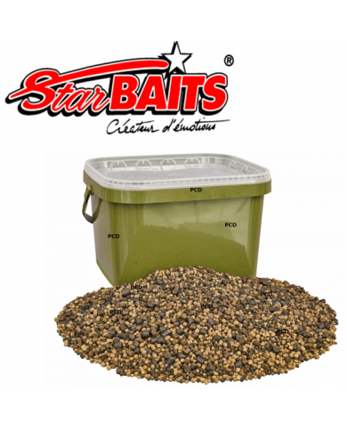 STARBAITS FEEDEZ FISHY PELLET MIX 2 KG