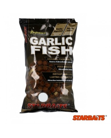 STARBAITS PROBIOTIC BOILIES GARLIC FISH