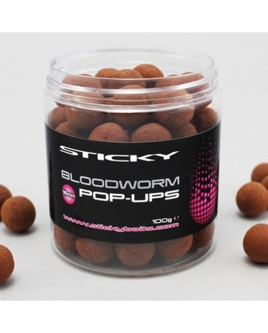 STICKY BAITS BLOODWORM POP UP 16 MM