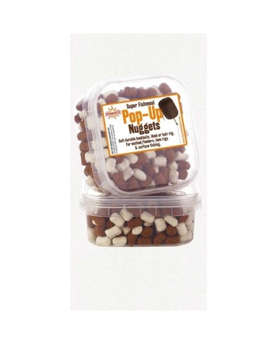 DYNAMITE PELLET INNESCO NUGGETS POP UP BROWN/WHITE