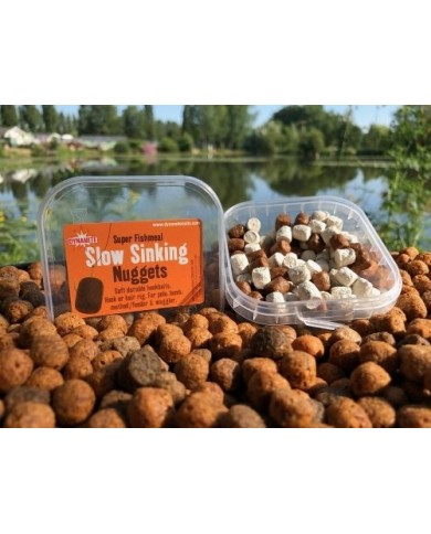 DYNAMITE PELLET INNESCO NUGGETS SLOW SINKING BROWN/WHITE