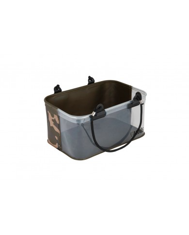 FOX AQUOS CAMOLITE WATER/RIG BUCKET SECCHIELLO