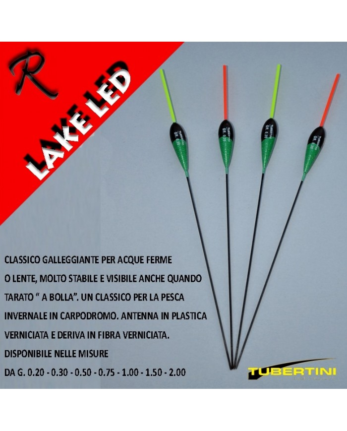 GALLEGGIANTE TUBERTINI LAKE LED